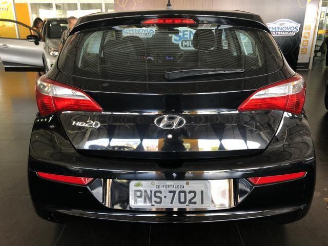 Hyundai HB20 1.0 Comfort Plus 16/17, Manual, Completo, Preto, Carro Extra 38000km - Foto 4