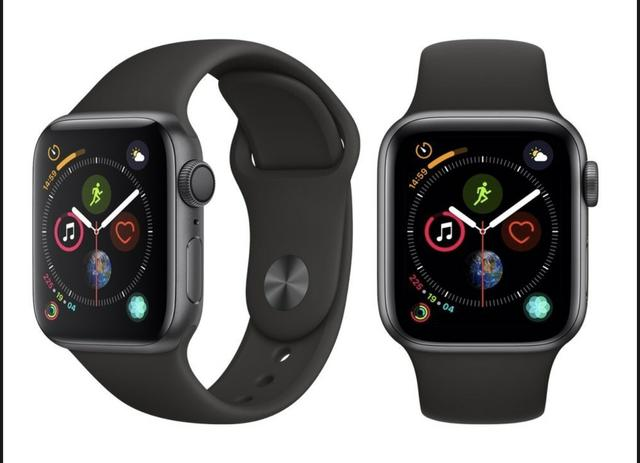 Apple Watch Series 4 44mm Cinza Espacial e0cb365bd2d