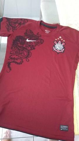 496555039c Camiseta Feminina Corinthians Grená - Roupas e calçados - Jardim Dom ...
