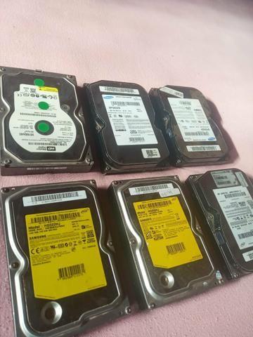 HDs de 80,250 e 322 GB