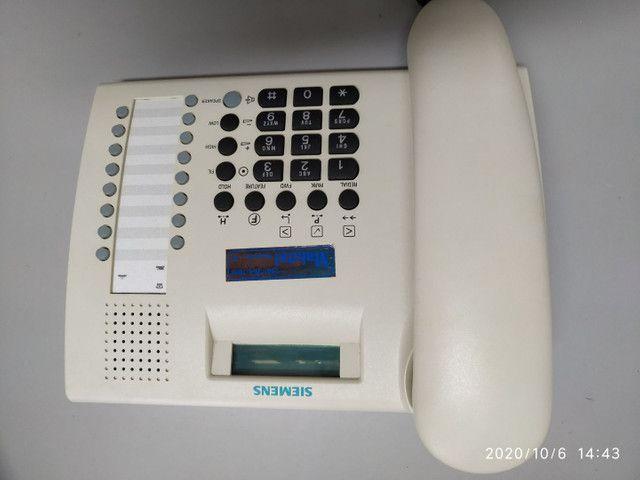 TELEFONE SIEMENS EUROSET 822 ZERADO - Foto 2