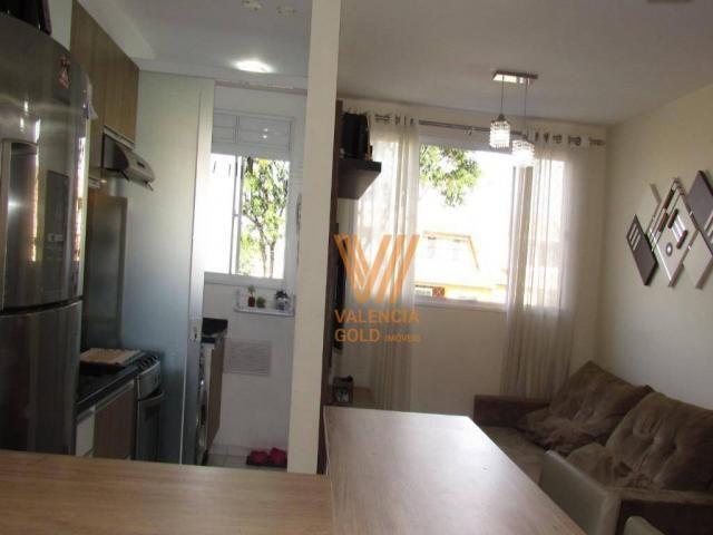 Apartamento com 3 dormitórios à venda, 64 m² por R$ 315.000,00 - Cajuru - Curitiba/PR - Foto 9