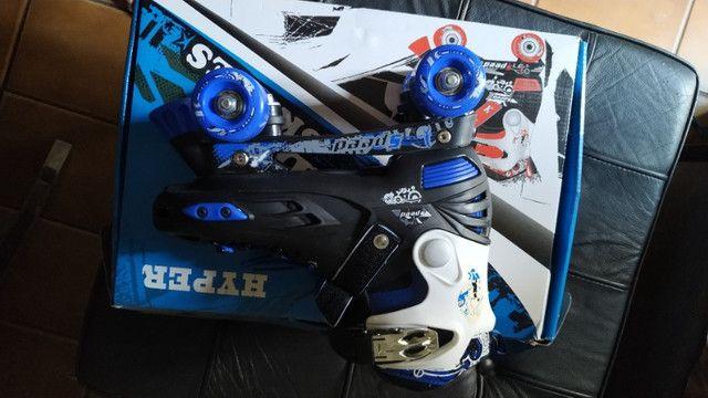Patins Roller Quatro Rodas Hyper Sports Classic 38 Ao 41 - Foto 3