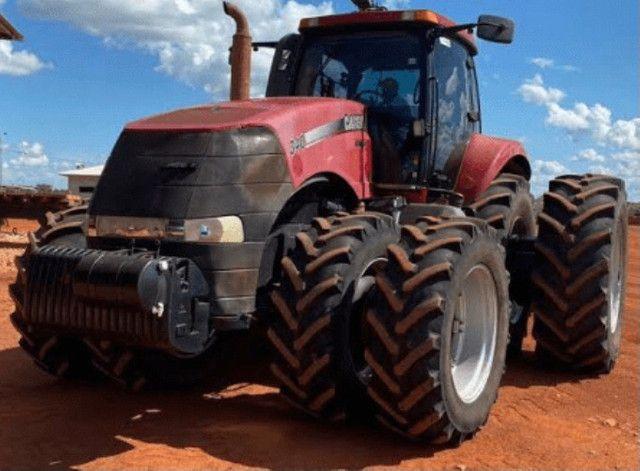Trator case magnum 340 ano 2013 - Foto 5