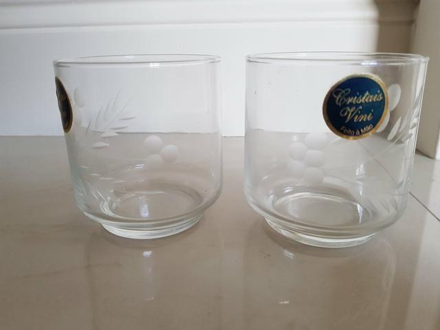 Copos em cristal decorado - Foto 3
