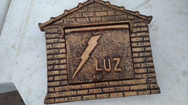 Kit 1 Caixa de correios e 1 caixa de Luz - Foto 2