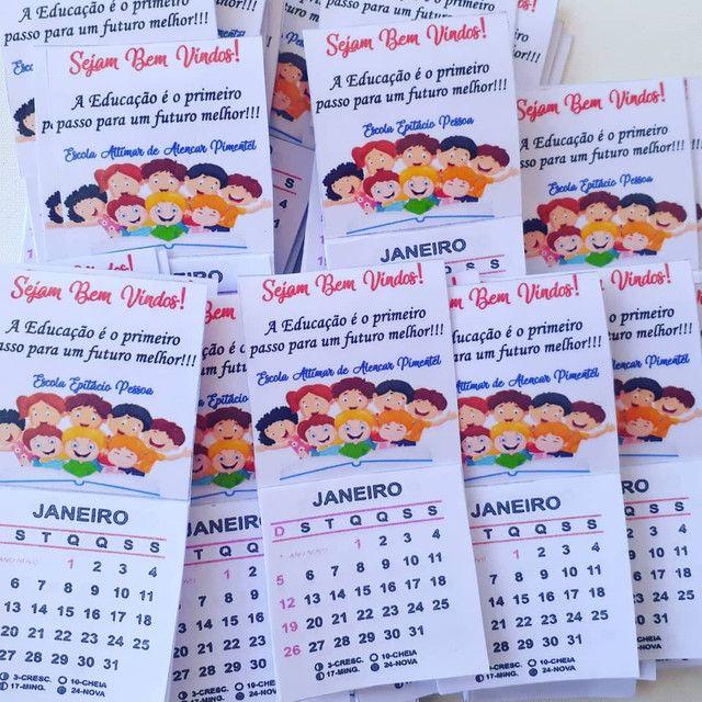 Mini calendario com imã  - Foto 5