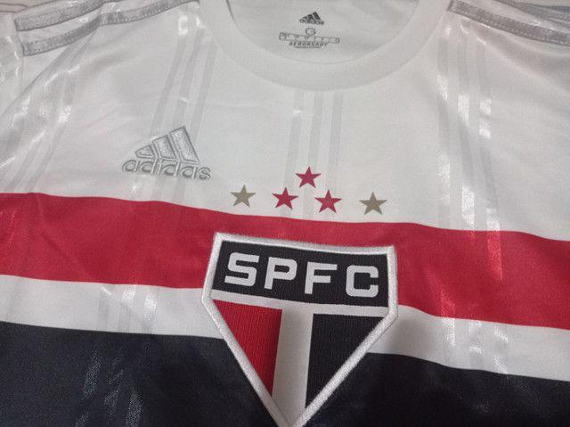 CAMISA SÃO PAULO FC TEMPORADA 2020 OFFICIAL - Foto 4