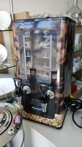 Cafeteira inox adesivada 5 litros Titã (nova) Alecs