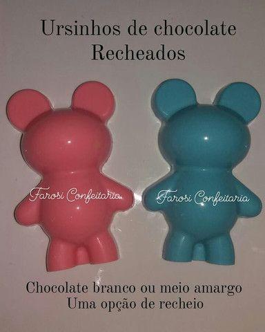 Ursinhos de chocolate  - Foto 2