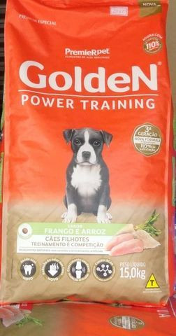 Golden Power 15kilos adulto por apenas 150