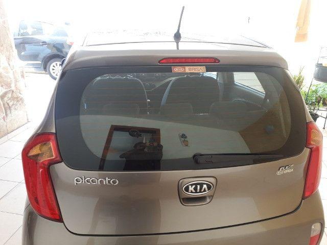Kia/ Picanto perfeito estado, carro de única dona - Foto 2