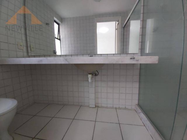 Apartamento com 4 quartos para alugar, 170 m² por R$ 6.000/mês com taxas- Boa Viagem - Rec - Foto 10