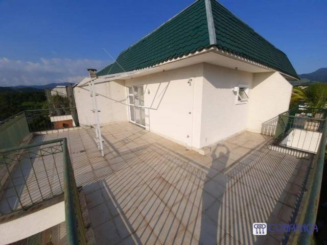 Cobertura com 2 dormitórios para alugar, 147 m² por R$ 2.200,00/mês - Campo Grande - Rio d - Foto 18
