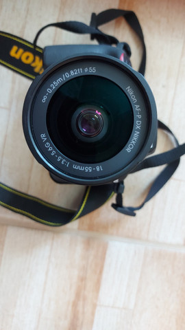 Câmera Nikon D3400 + lente 18-55 - Foto 3