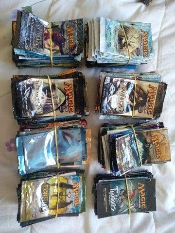 Boosters vazios antigos de Magic the Gathering