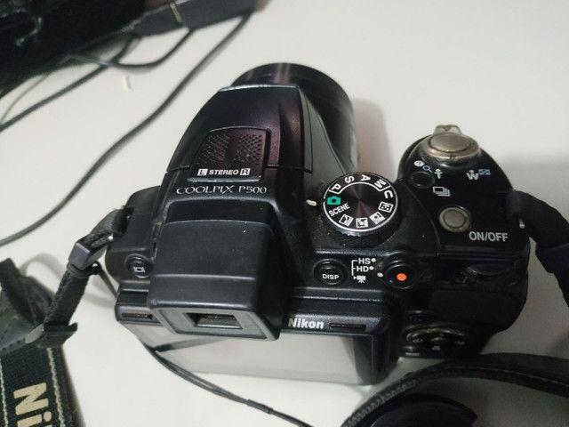Câmera Nikon Semi-Profissional  - Foto 5