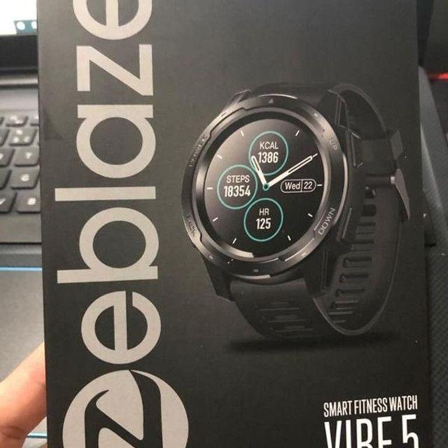 Relógio Smartwatch Zeblaze Vibe 5 Pro - Touch Screen - Preto - Foto 6