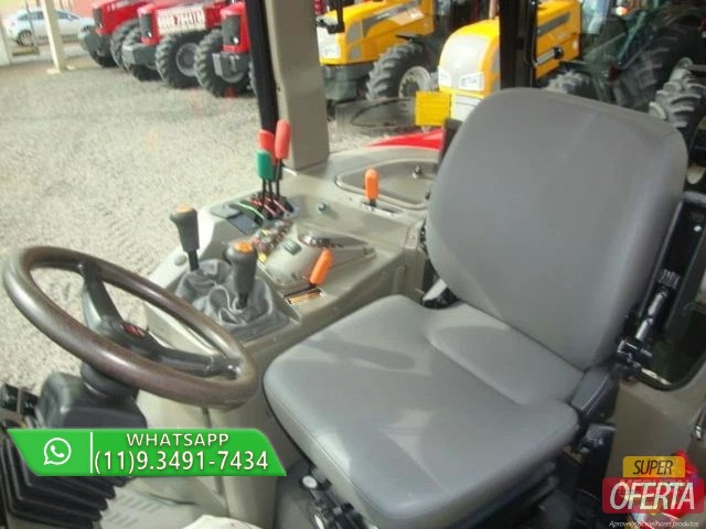 Trator Massey Ferguson 7150 4x4 ano 12 - Foto 4
