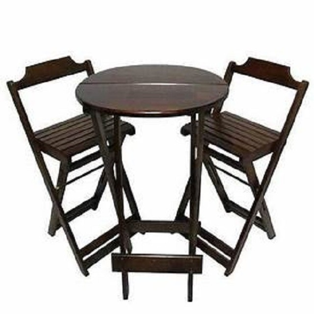 Mesa e cadeiras dobráveis - Foto 5
