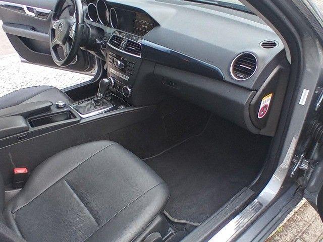 Mercedes Benz c180 2012 cgi(turbo)Blindada n3a+aut/tip+toplinha+couro+absurdamente nova!!! - Foto 15
