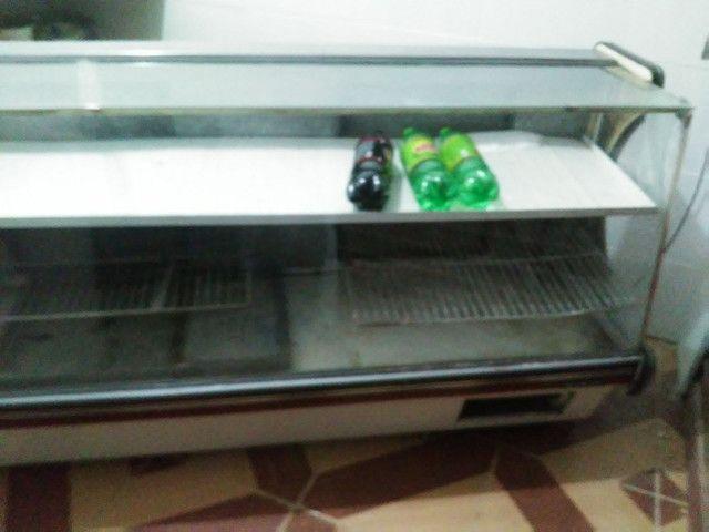 Freezer espositor gelado. Bom estado de conservaçao - Foto 4