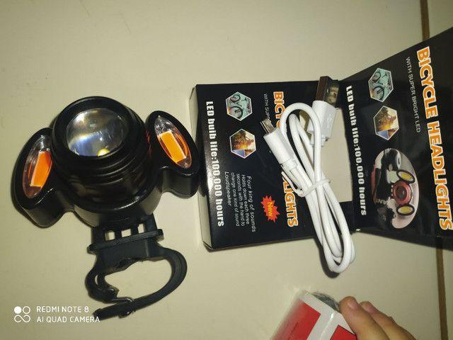 Lanterna de bike LED 100.00 hours - Foto 5