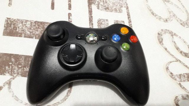 Xbox 360 com 2 controles e 2 jogos (Usado) - Foto 6