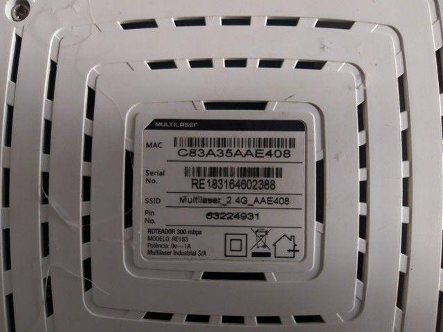 Roteador 300mbps - 200mw - 4 antenas - RE183