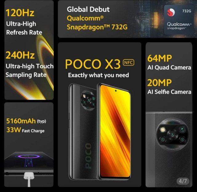 IPhone não, é Xiaomi o Super Poco X3 NFC - Foto 4