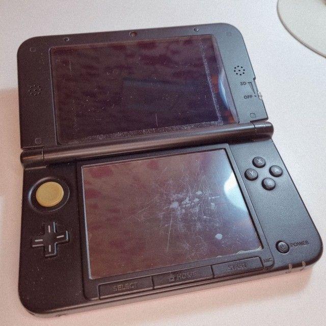 Nintendo 3DS XL + mídia física + 40 mídias digitais - Foto 2