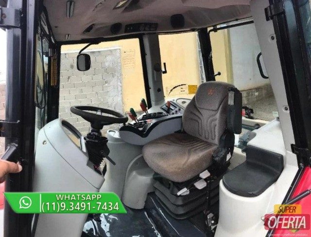 Trator Massey Ferguson 7390 4x4 ano 13 - Foto 5