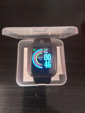 Relógio inteligente Smartwatch D20 - Foto 4