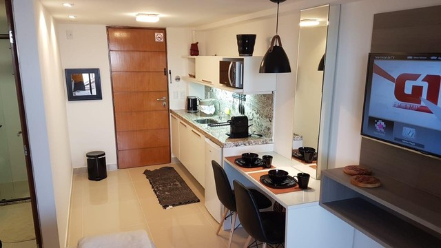 Alugo flat mobiliado no cabo branco  - Foto 6