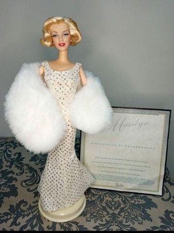 Boneca Barbie Collector Marylin Monroe Hollywood Premiere - Foto 3