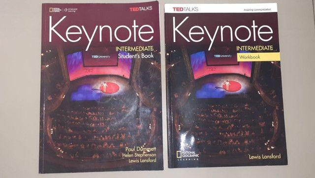 Livro Keynote Student Book/ Workbook+ livro leitura