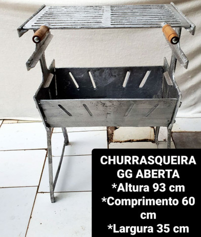 CHURRASQUEIRAS DESMONTÁVEIS  - Foto 4
