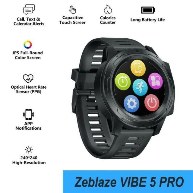 Relógio Smartwatch Zeblaze Vibe 5 Pro - Touch Screen - Preto - Foto 2