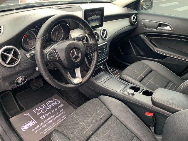 Mercedes gla 200 advance 2017 51.000 km todas revisoes feitas e ipva 2021 pago - Foto 11