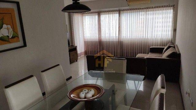 Apartamento com 01 Quarto Mobiliado com Vista pro Mar em Boa Viagem, Recife