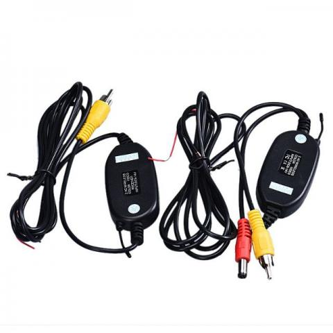 Kit Modulo Transmissor E Receptor Sem Fio Wireless Camera Ré Video/ Multimidia