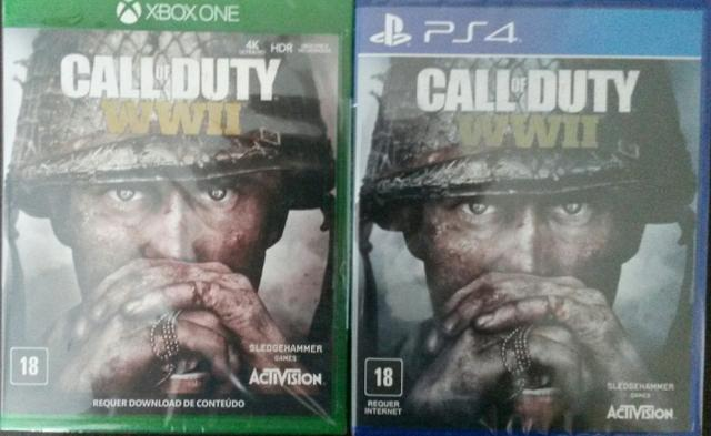 Call of duty ww2 ps4 e xbox one ( pronta entrega! )