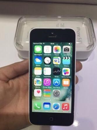 Vendo iPhone 5c branco