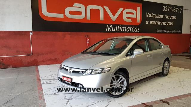 Honda Civic 2008 2008 2.0 Si 16v Gasolina 4p Manual   2008