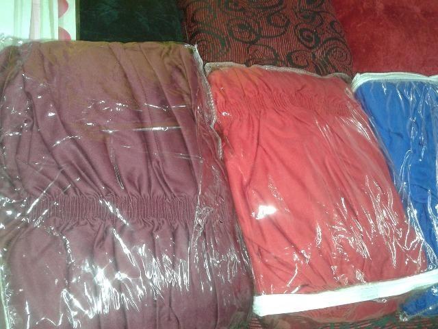 Capa pra sofa 2 e 3 lugares - Foto 4