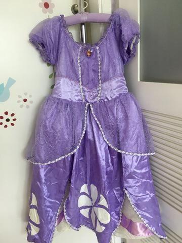 Vestido Princesinha Sofia, luxo