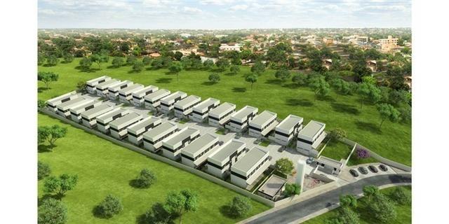 Casas de 50m² - 2 dormitorios - quintal de 12m² nos fundos - 1 vaga de garagem, com lazer - Foto 10
