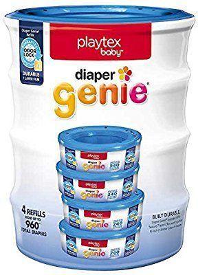 Refil lixeiras Playtex Genie kit 4