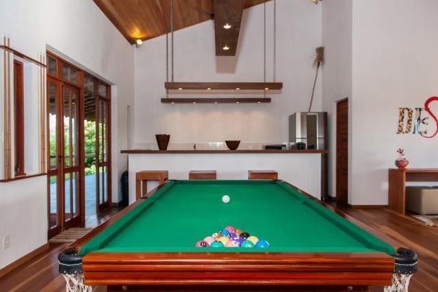 Casa de luxo 5 suites e wi-fi. 100 km de praia do Forte. Vista Paradisiaca - Foto 12