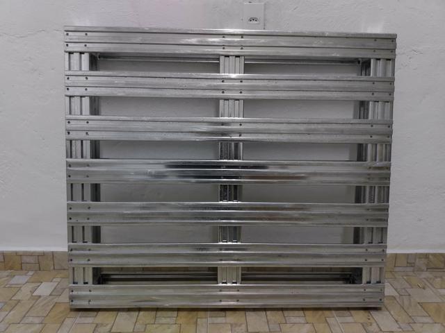 Pallet Metalico Galvanizado - Foto 2